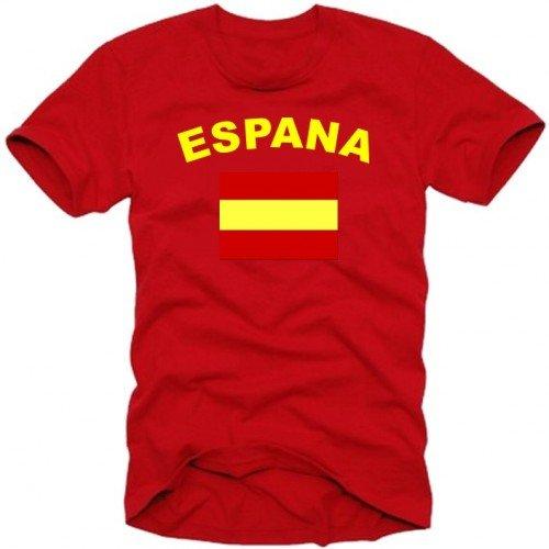 Coole-Fun-T-Shirts Herren T-Shirt SPANIEN ESPANA