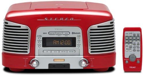 CD&ラジオ搭載「TEAC プレミアムBluetoothスピーカーシステム(SL-D930-R)」