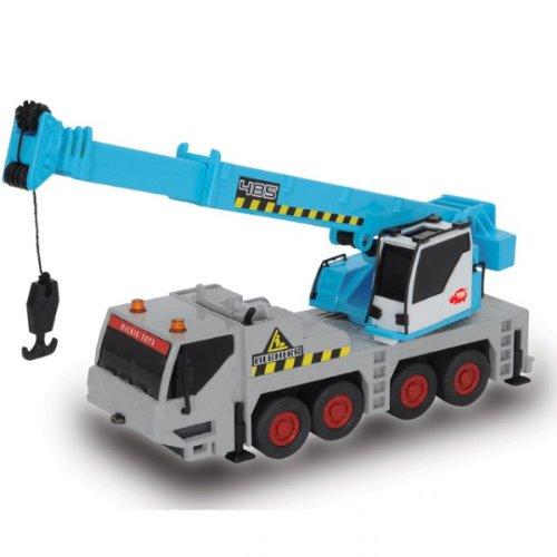 Dickie Liebherr Power Worker Bagger Baufahrzeuge Radlader Kran blau NEU, Modell / Charakter:Kran