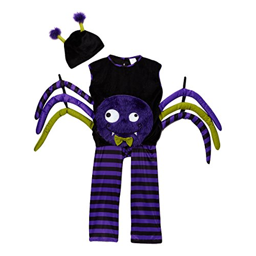 Purple Spider Dress-Up Set, Size 1/2 - 1