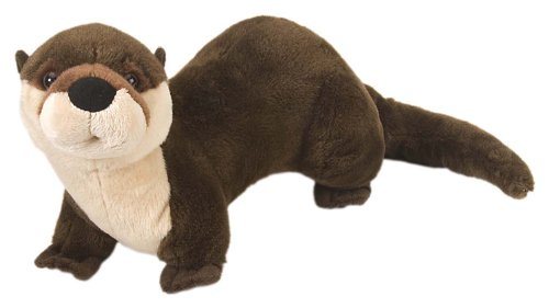 "Wild Republic Cuddlekins 15"" River Otter"