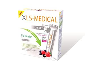 XLS Medical Fat Binder Direct Weight Loss Aid - 5 Day Trial Pack, 15 Sachets