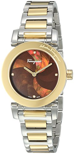 Salvatore-Ferragamo-Womens-LADY-Quartz-Stainless-Steel-Casual-Watch-ColorTwo-Tone-Model-FP1740016