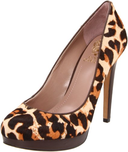 Vince Camuto Women's Sarika Pump,Spotted Leopard,9.5 M US