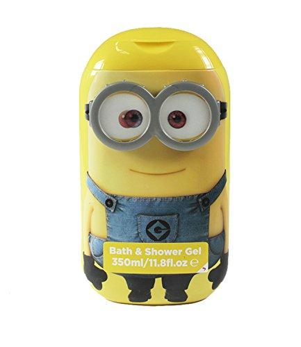 Minions Bath & Shower Gel in 3D look - giallo -
