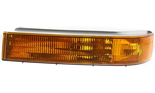 Evan-Fischer EVA23172012836 New Direct Fit Turn Signal Light for F-SERIES 92-97 Driver Side LH Lens and Housing Below Headlamp Replaces Partslink# FO2520116 (94 Ford Lightning compare prices)