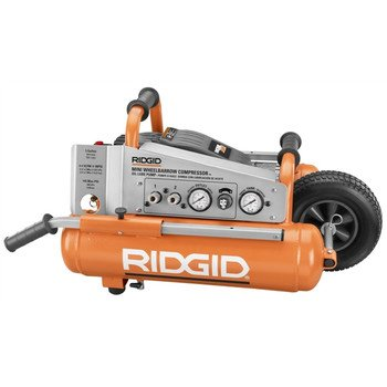 Ridgid OL50145MW 5 Gallon Mini Wheelbarrow Air Compressor