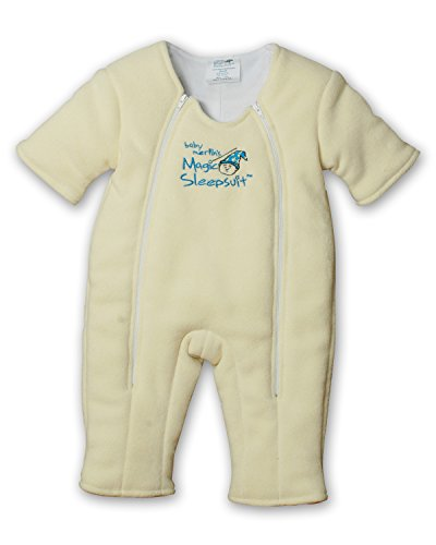 Baby Merlin's Magic Sleepsuit Microfleece - Yellow - 3-6 months - 1