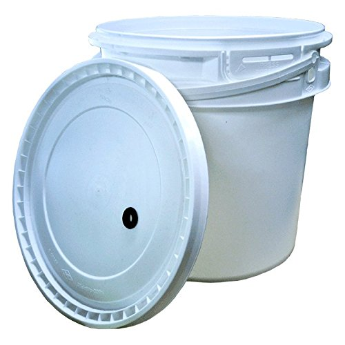 2 Gallon Plastic Fermenter w/ drilled lid (Beer Bucket Plastic compare prices)