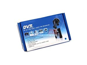 Driving Recorder Night Vision Car Camera Digital Video Camcorder DVR
