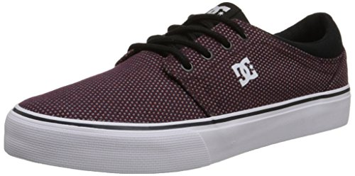 DC Shoes Trase TX SE Uomo US 9 Viola Scarpe Skate UK 8 EU 42