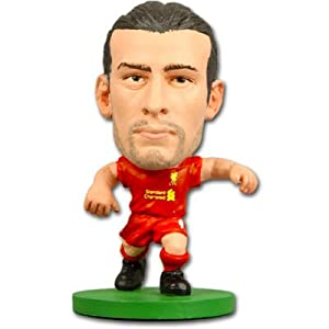 Liverpool F.C. SoccerStarz Carroll- andy carroll- soccerstarz figure- 2 inches tall- with collectors card- in blister pack- Official Football Merchandise from Limited Stock / Collectables