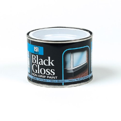 180ml Coatings: Iron Gate Black Gloss Paint Dy014a1 By 151
