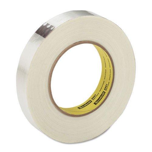 Scotch 8981 Filament Tape, 24 mm Width, 55 m Length, Clear (Pack of 1)