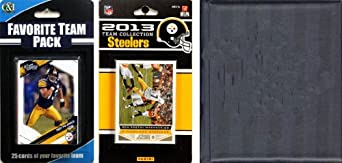 NFL Pittsburgh Steelers Licensed 2013 Score Team Set and Favorite Player Trading Card... by C&I Collectables