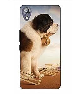 Make My Print Dog Printed Multicolor Hard Back Cover For Lenovo P70