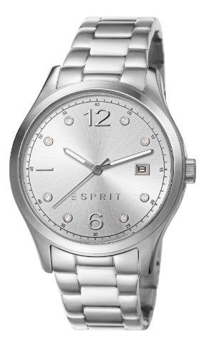 Esprit ES106692004 - Reloj de pulsera mujer, acero inoxidable, color plateado