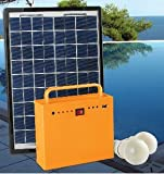 Sun Urja 10 Watts Solar Home Lighting System - Green