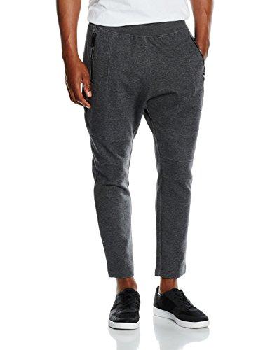 Antony Morato Pantalone In Felpa con Tasche con Zip, Pantaloni da Uomo, Grigio Melange, S