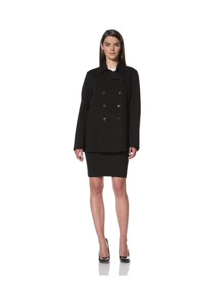 JIL SANDER Women's Pocket Double-Breasted Coat