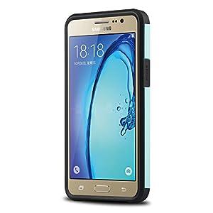 Samsung Galaxy On 5 Case, J&D [Slim Armor] [Heavy Duty] [Dual Layer] Hybrid Shock Proof Fully Protective Rugged Case for Samsung Galaxy On 5 by J&D Tech