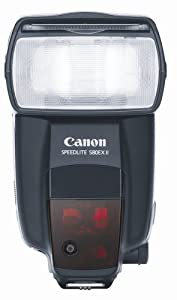 Canon Speedlite 580EX II Flash for Canon EOS Digital SLR Cameras