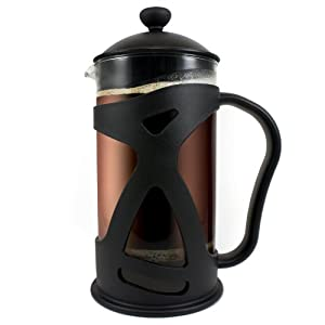 KONA French Press ~ Best Coffee Tea & Espresso Maker with Heat Resistant Glass ~ Perfect Present Idea for Birthday Gifts