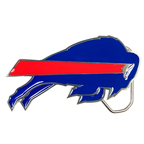 NFL Buffalo Bills Belt Buckle, Silver