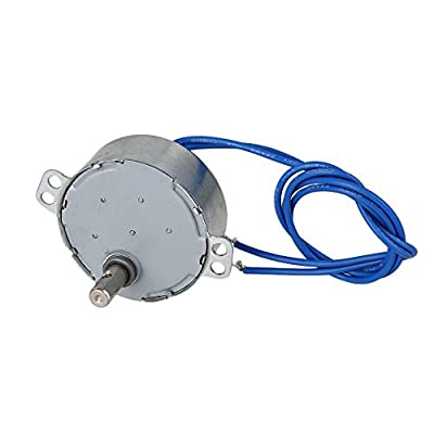 CNBTR TYC-50 5-6 RPM AC110V CW/CCW Synchronous Electric Motor with 7mm Shaft Dia