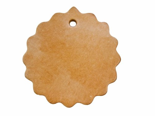 "Springfield Leather Company 2"" Scalloped Concho with Hole- 25 pack"