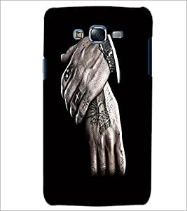 PrintDhaba Hands D-2193 Back Case Cover for SAMSUNG GALAXY ON 7 (Multi-Coloured)