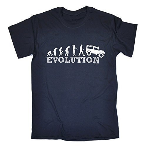 evolution-4x4-l-oxford-navy-new-premium-loose-fit-baggy-t-shirt-slogan-funny-clothing-joke-novelty-v