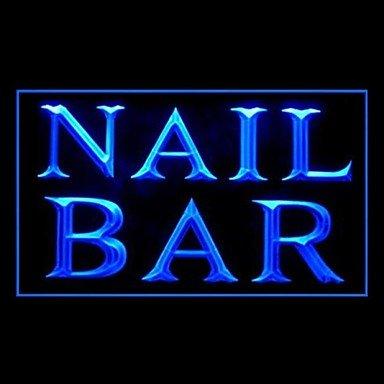 Polish Nail Bar Advertising Led Light Sign