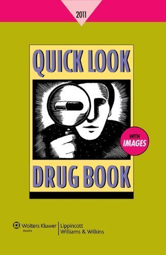 Quick Look Drug Book 2010