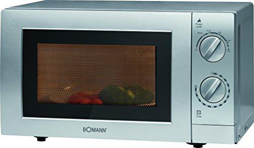 bomann-mw-2288-cb-mikrowelle-700-w-mikrowellenleistung-20-l-garraum-silber
