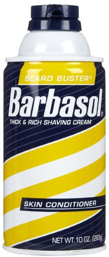 Barbasol Beard Buster Shaving Cream Skin Conditioner 10 oz