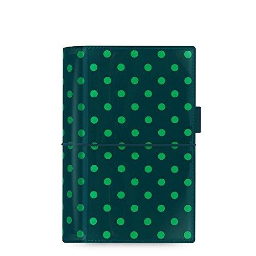 Filofax Domino Patent Personal Organiser (Pine Spots)