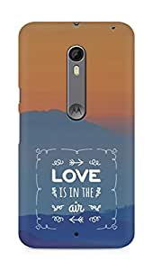 Amez Love is in the Air Back Cover For Motorola Moto X Style