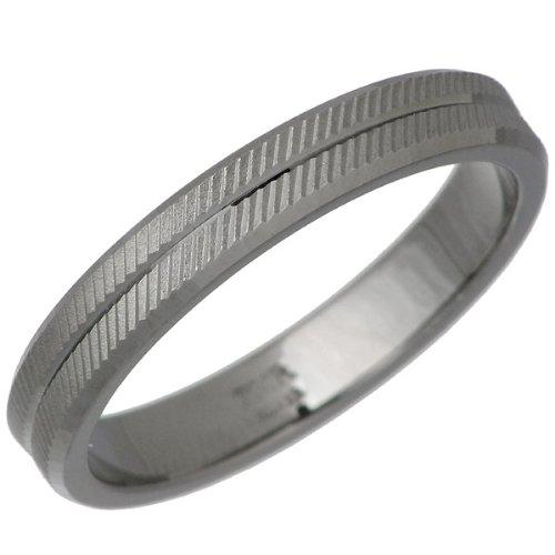 PMR ピーエムアール CUT PAIR ピンキー シルバー リング ブラックコーティング 指輪 1~13号 PMR207-BK