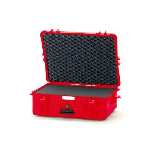 軽量設計★2700F Hard Case with Cubed Foam 2700F ハードケース HPRC社 Red【並行輸入】