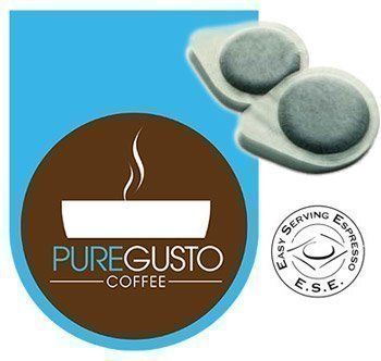 Order PureGusto Pure Costa Rican Coffee - ESE Pods x 100 - FREE DELIVERY from PureGusto