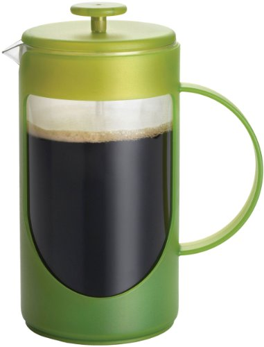 Bonjour Coffee Ami-Matin 3-Cup French Press, Green front-248919