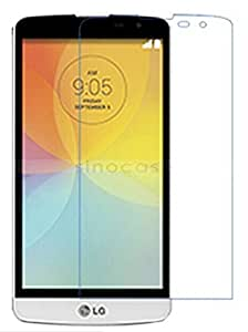 SNOOGG Pack 10 LG BELLO 2Full Body Tempered Glass Screen Protector [ Full Body Edge to Edge ] [ Anti Scratch ] [ 2.5D Round Edge] [HD View] – White