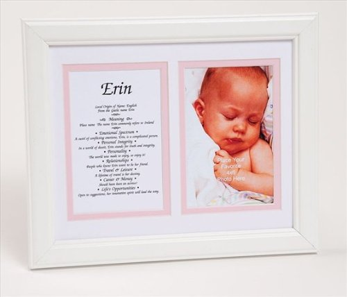 Townsend Fn05Unique Personalized Matted Frame With The Name & Its Meaning - Framed, Name - Unique back-6122