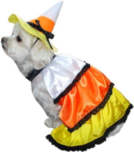 Candy Corn Dog Costume Size SmallB001D1DRXC