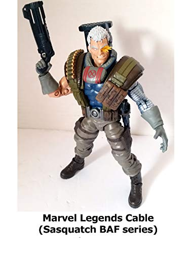Clip: Marvel Legends Cable (Sasquatch BAF series)