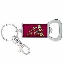 Buy NCAA Minnesota Golden Gophers Bottle Opener Key Ring by WinCraft