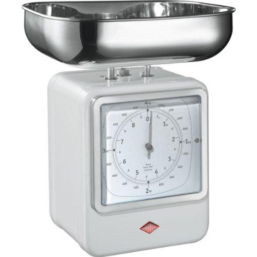 Wesco 322 204-01 Balance de cuisine (Blanc)