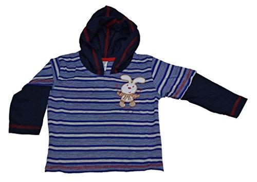 Mama & Bebes Infant Wear - infant / Kids Hooded Tshirts ,Color-Blue