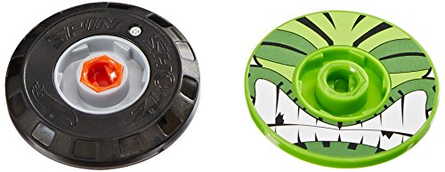 Hot Wheels Spinshotz LED 1 Spinning Tops (2-Pack) - 1